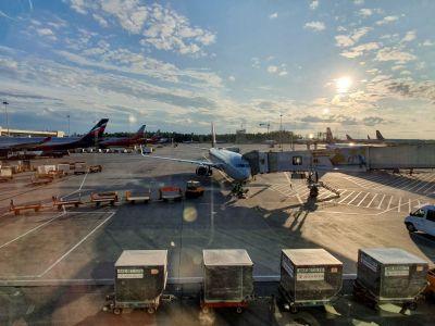 Aéroport de Moscou-Cheremetievo embarquement