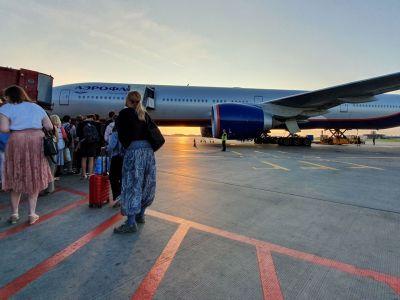 Aéroport de Moscou-Cheremetievo tarmac