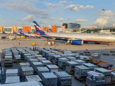 Aéroport de Moscou-Cheremetievo fret