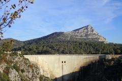 Barrage de Bimont Ste Victoire
