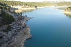 Barrage de Bimont bords