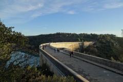 Barrage de Bimont traversée
