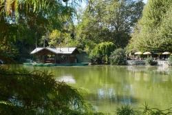 Parc Borély promenade barque