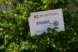 Parc Borély kyudo Aki matsuri