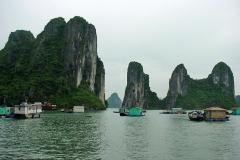 Viêtnam : Baie d' Ha long