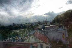 Hanoi vue d'une terrasse