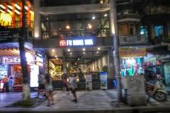 Boutique de Hanoi de nuit