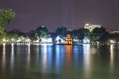 lac de Hoan kiem la nuit
