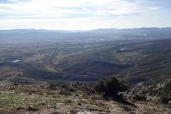 Vue sur la vallée Pic des Mouche