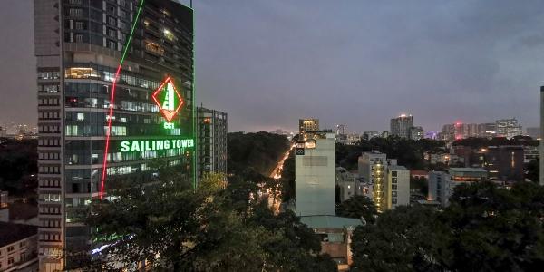 Au Lac Legend Saigon city view