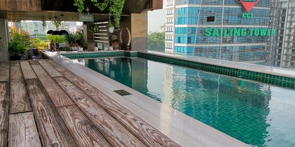 Au Lac Legend Saigon piscine extérieure
