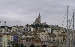 Marseille décembre Notre Dame