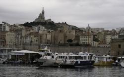 Marseille décembre Notre Dame Vieux Port