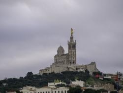Notre Dame de Marseille en hiver