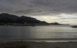 Le Prado Escale Borely à Marseille en hiver