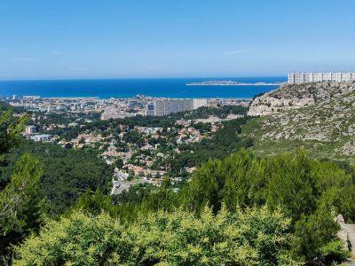 Route de la Gineste Marseille juin 2020