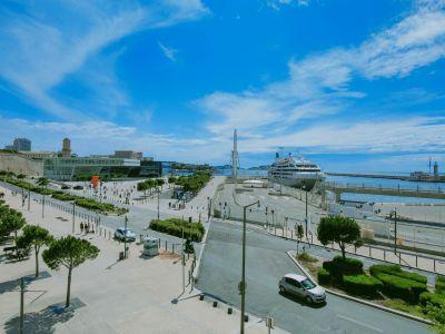 Marseille juin 2020 esplanade Mucem