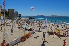 Marseille Plage des Catalans été