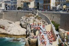 Marseille Bistrot Plage baignade