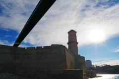 Fort Saint Jean passerelle Mucem