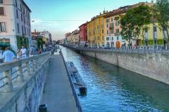 Canal de Navigli Milan