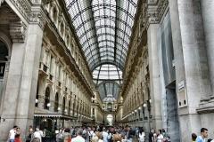 Milan shopping