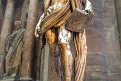 Dôme de Milan statue