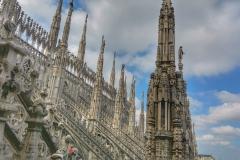 Dôme de Milan terrasses