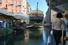 Canal de Navigli à Milan