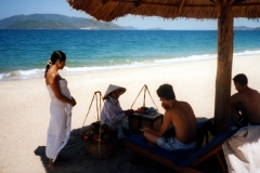 Nha Trang plage au Viêt Nam