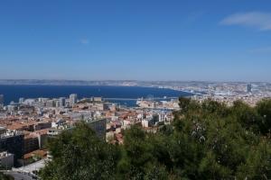 Vue de Notre Dame de la Garde Marseille