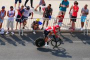 Maillot rouge TDF Marseille
