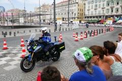 Moto gendarme securite