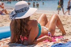 bikini bronzage