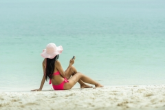 plage bikini détente