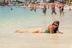 plage femme