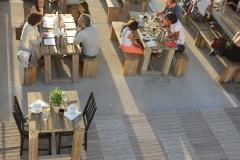 Restaurant chinois avec terrasses