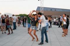 Rooftop Marseille danse