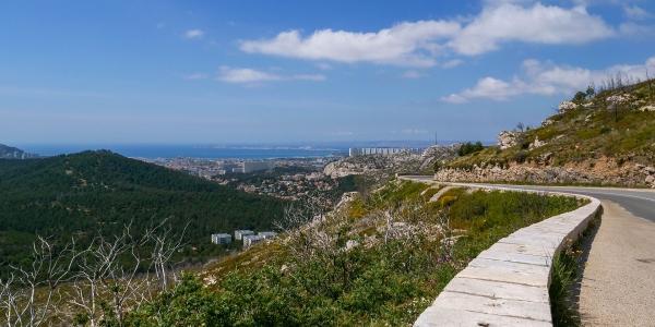 Col de la Gineste 13009 Marseille