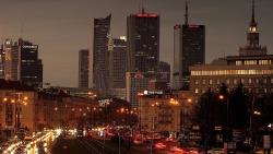 Varsovie la nuit