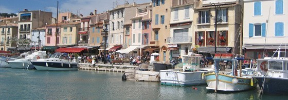 Cassis, le port