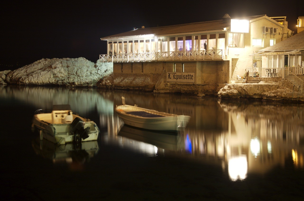 Sortir au restaurant à Marseille au Vallon des Auffes à L'Épuisette