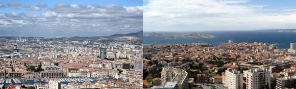 Marseille vu de Notre Dame de la Garde