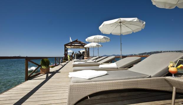 Week-end et court séjour à Juan-les-Pins  au Graden Beach 4 étoiles