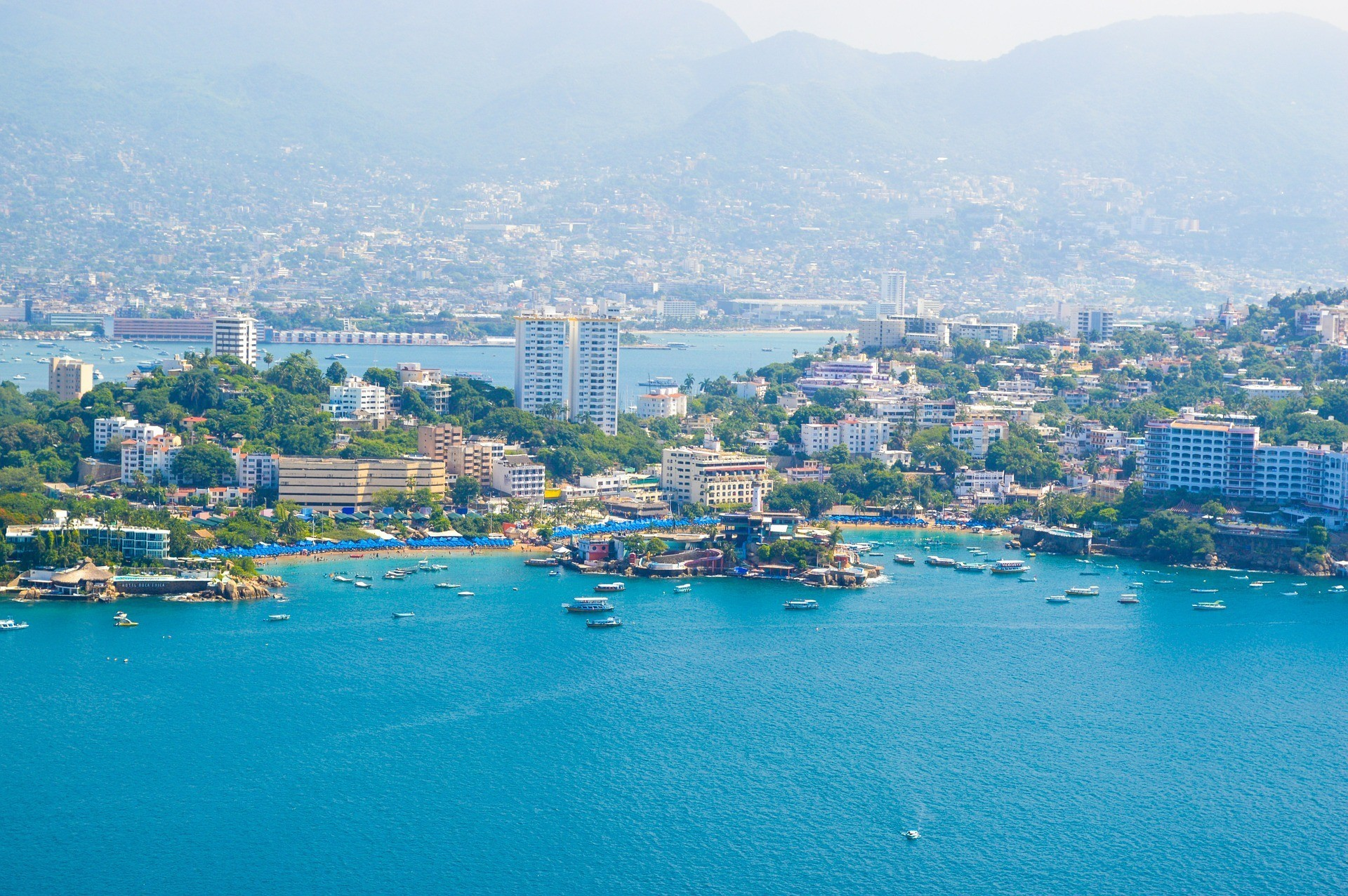Voyage sur la côte Pacifique du Mexique Acapulco et Puerto Vallarta