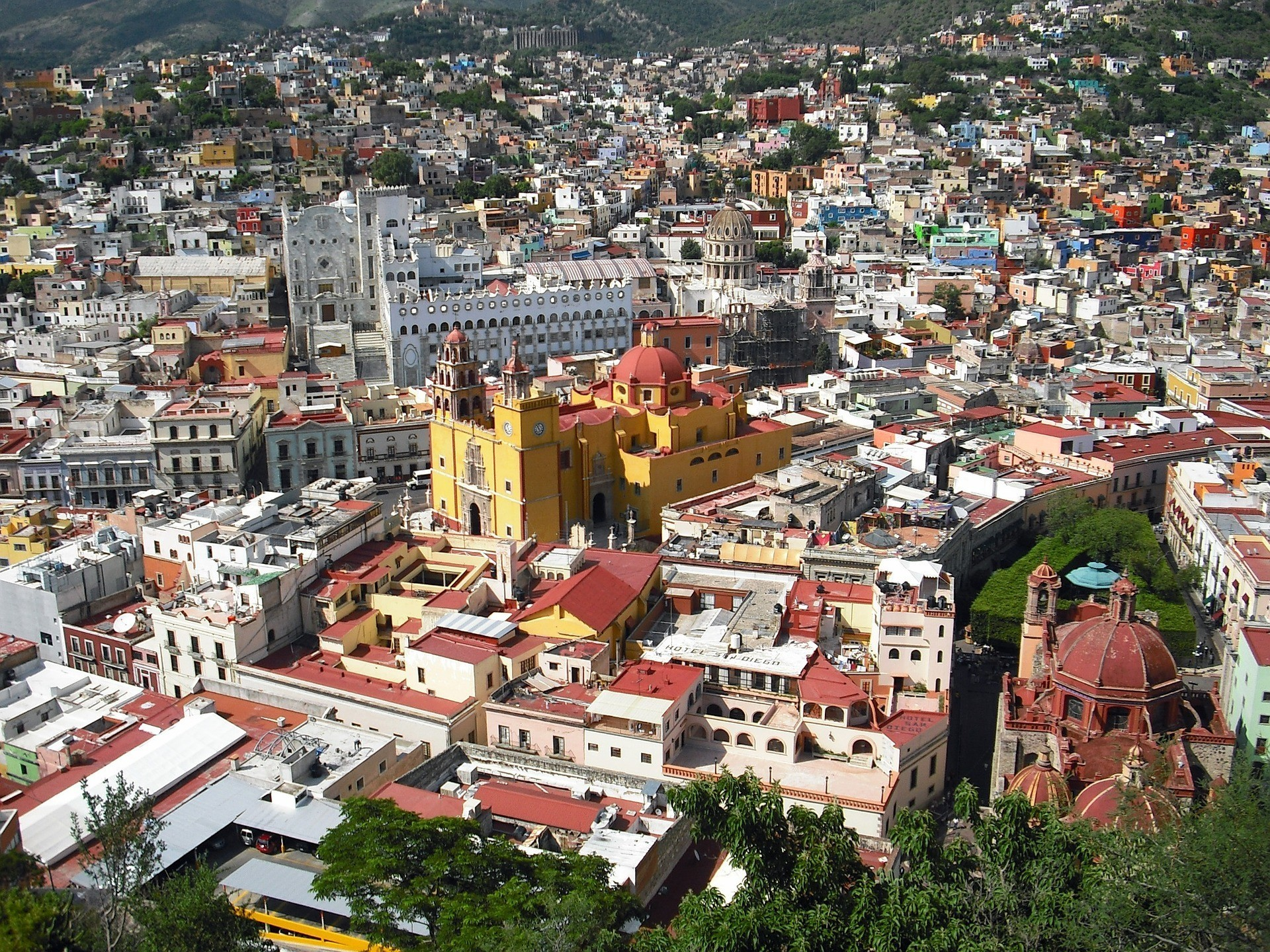 Le Mexique et ses héritages de l'époque coloniale dans son patrimoine
