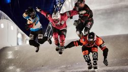 Red Bull Crashed Ice à Marseille en février 2018