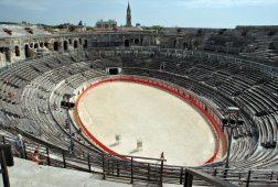 Spectacle aux Arènes de Nîmes en 2018 Spartacus