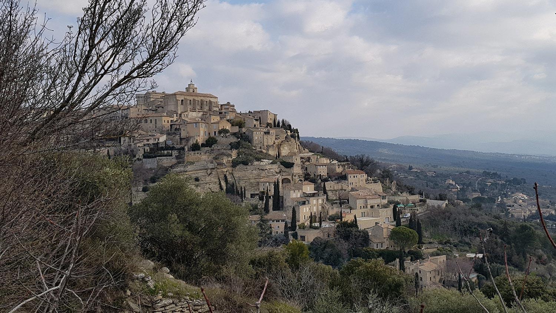 Cliché de Gordes dans le Luberon