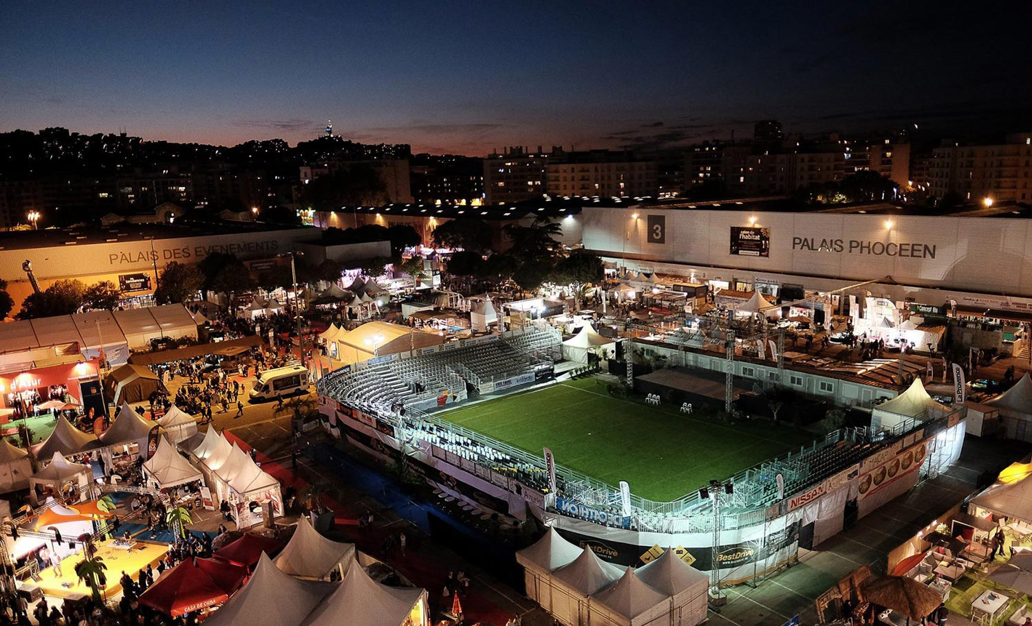 Nocturnes Foire internationale de Marseille 2018